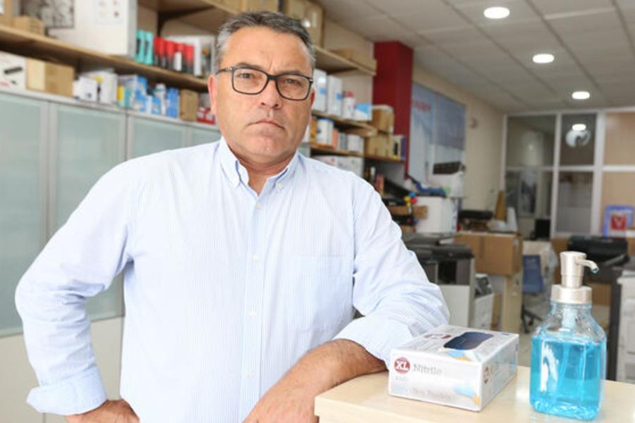 Entrevista a Antonio Junquera, presidente de los empresarios de Chiclana