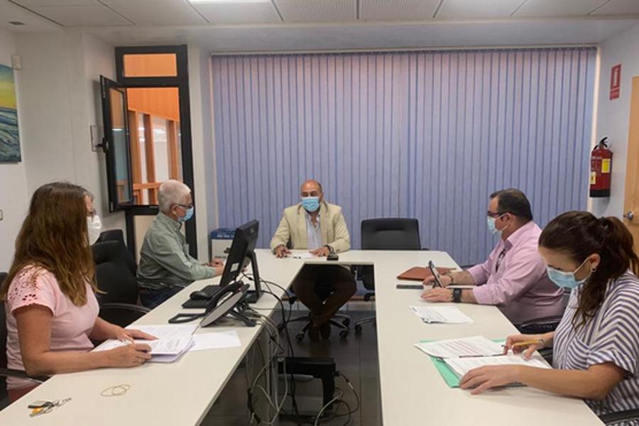 Empresarios y Ayuntamiento trabajan de cara a la próxima firma de un convenio de colaboración