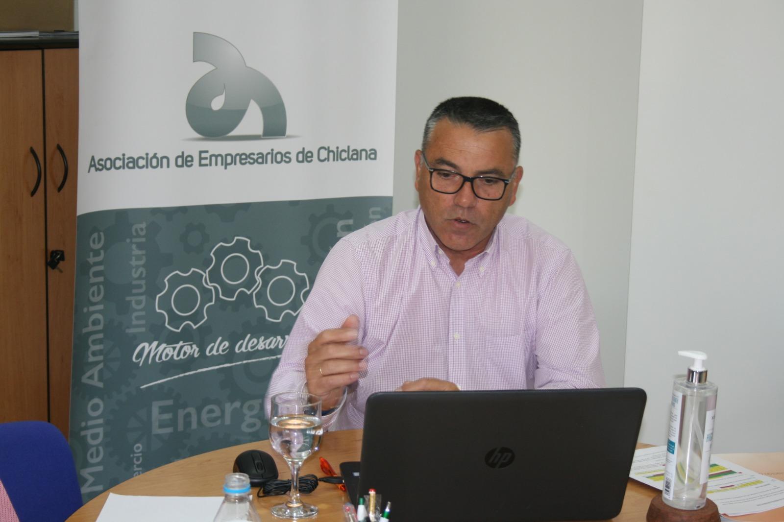 Asamblea virtual de la Asociación de Empresarios de Chiclana