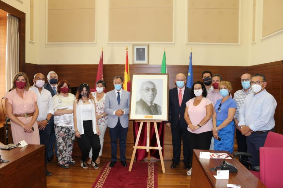 Los Empresarios hemos estado presentes en el homenaje a José Antonio González Morales, hijo predilecto de la ciudad de Chiclana a título póstumo desde el año 2017