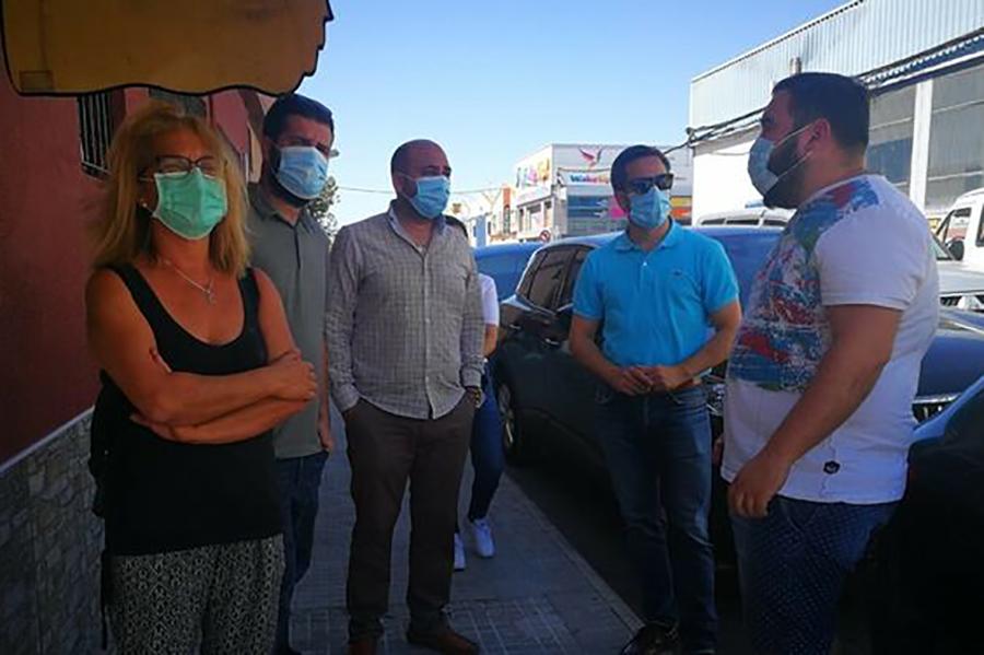 Los empresarios de El Torno demandan mejoras en el polígono
