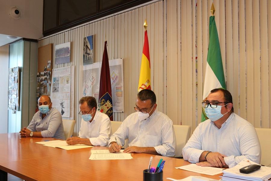La Asociación de Empresarios y el Ayuntamiento de Chiclana hemos firmado un convenio para el desarrollo de medidas excepcionales por el COVID-19