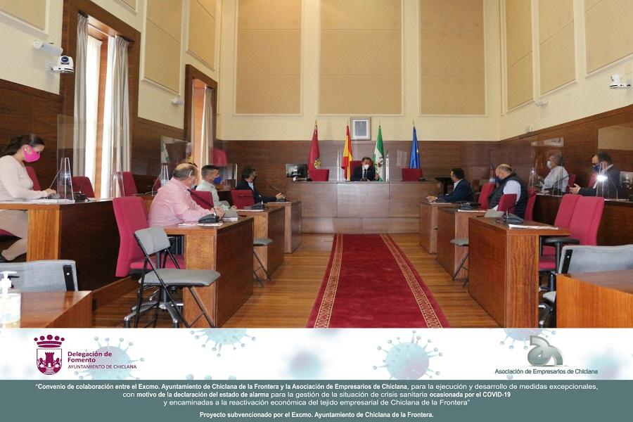 Los Empresarios participamos en la Segunda Mesa de Dinamización de las relaciones.