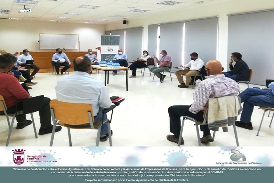 La Asociación de Empresarios de Chiclana abre la ronda de Mesas de Participación.