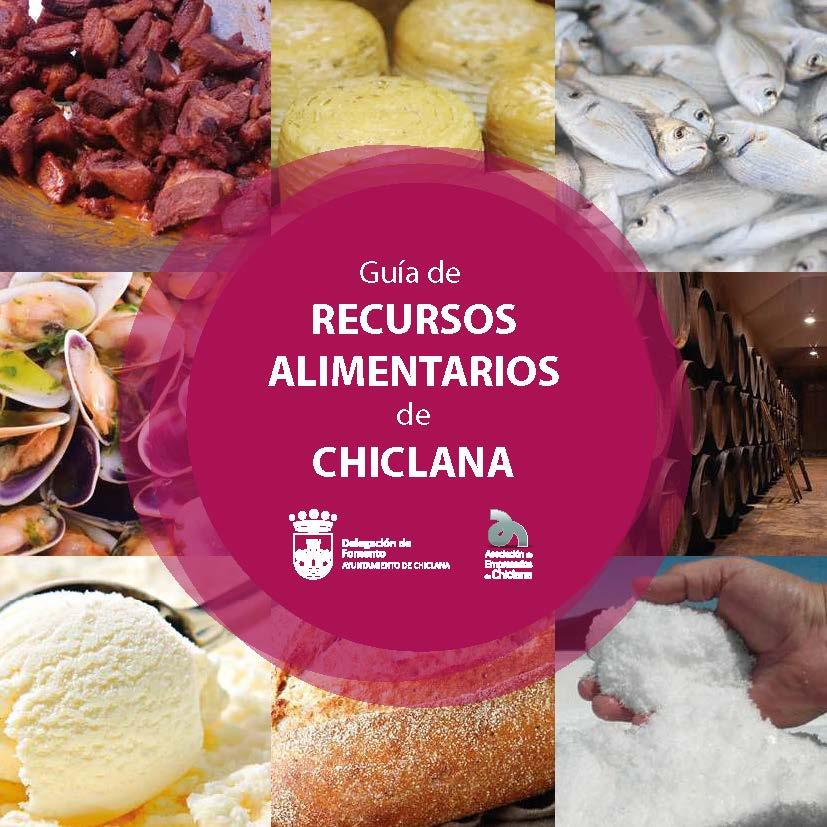 La Asociación presenta la «Guía de Recursos Alimentarios de Chiclana».