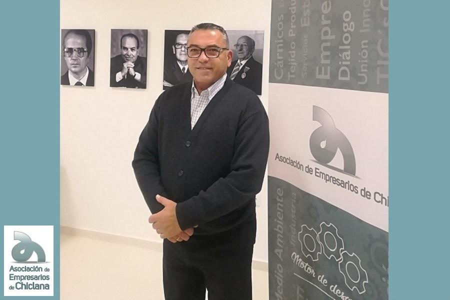 Antonio Junquera de nuevo candidato a las elecciones de los empresarios de Chiclana.