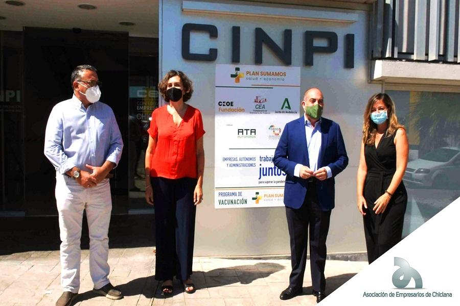 La Confederación de Empresarios y la Asociación de Autónomos incorporan a pymes de Cádiz al «Plan Sumamos»